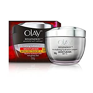 Olay Regenerist Revitalising Hydration Skin Cream Moisturiser SPF 15, 50gm