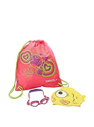 Speedo Schwimmbrille Sea Squad Swim Bag Set Ju mehrfarbig