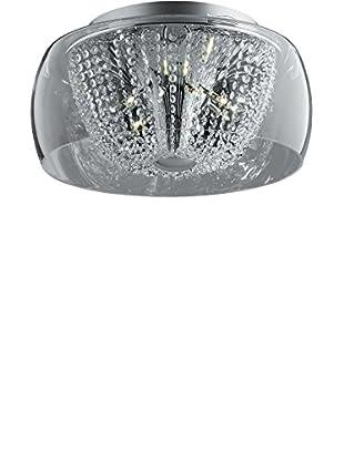 EVERGREEN LIGHTS Lámpara De Techo AUDI-60 PL11 D50 Plateado