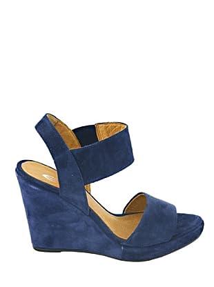 Eye Shoes Sandalias (Azul Oscuro)