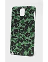 Fonokase Case for Samsung Galaxy Note 3 Army Series Hard Back + Screen Guard