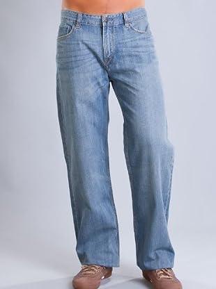 Timberland Pantalón Vaquero Costuras (Azul Claro)