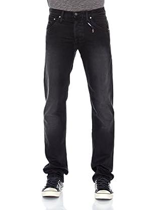 Pepe Jeans London Vaquero Hoxton (Gris Oscuro)