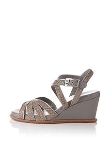 STEPHANE KELIAN Women's Camden Wedge Sandal (Perle)