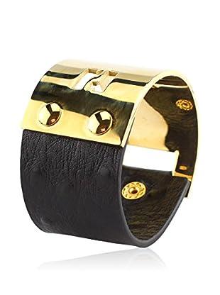 Renoma Pulsera Mata Hari Kalahari Gold Negro / Dorado