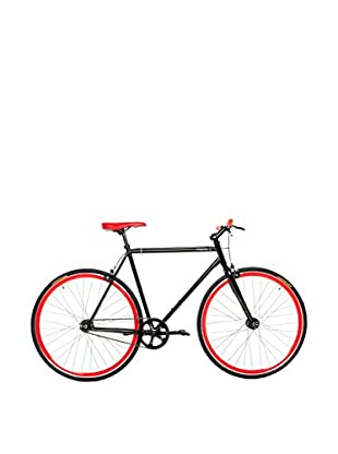 MOMA BIKES Bicicletta Fixie 28 Hi-Ten Fixie T54 Nero