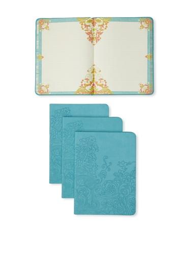 Mudlark Set of 4 Artifact Collection Journals (Turquoise)