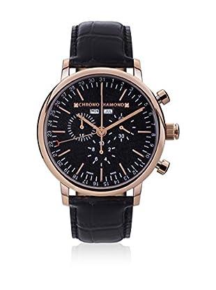 Chrono Diamond Uhr mit schweizer Quarzuhrwerk Man 11200 Argos schwarz