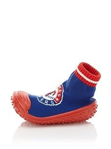 Skidders Texas Rangers Shoe Socks (Blue)