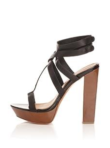 Mark + James Women's Paxton Platform Sandal (Black)