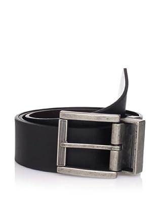 Calvin Klein Men's Reversible Wide Strap Belt (Black/brown)