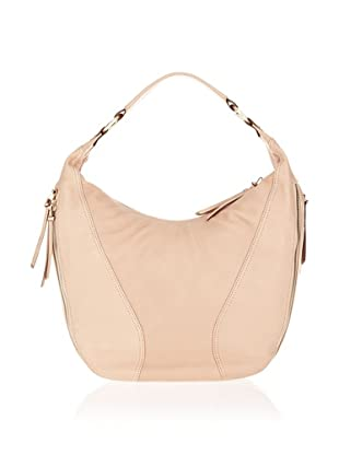 Braun Büffel ZIP Hobo Bag (Beige)