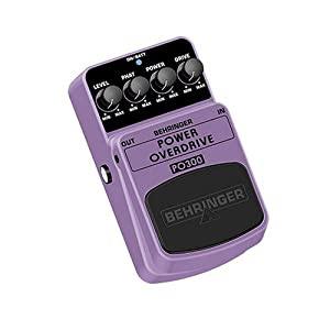 BEHRINGER POWER OVERDRIVE
