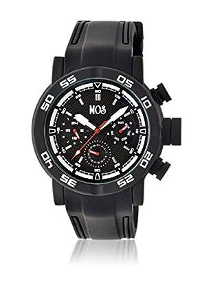 Mos Reloj con movimiento cuarzo japonés Mosmb105 Negro 48  mm