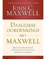 Daaglikse oordenkings met Maxwell: 366 Dae van insig om die leier te word wat jy kan wees en almal rondom jou te inspireer