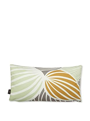 Inhabit Leaf Pillow (Grass/Butterscotch)