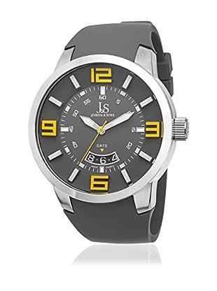 Joshua & Sons Uhr mit schweizer Quarzuhrwerk Man 49 mm