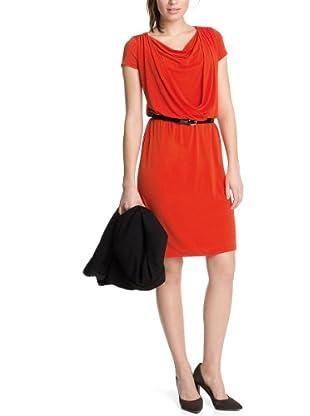 ESPRIT Collection Vestido Yaya (Rojo)