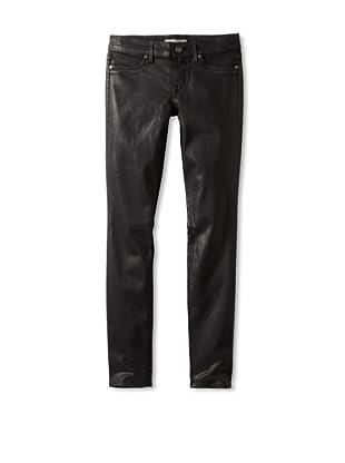 Rich & Skinny Women's Coated Jean (Bohemian Black)