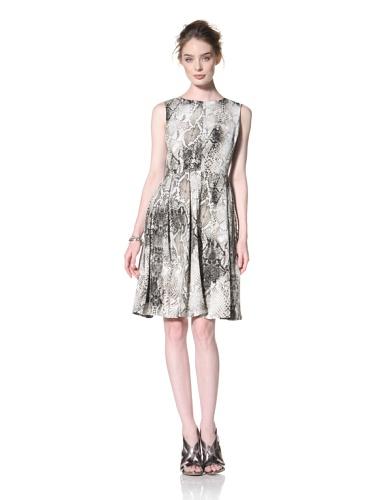 Taylor Dress Women's Sleeveless Dress (Black/Olive/tan)