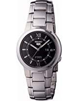 Seiko Analog Black Dial Women's Watch - SNKA23K1