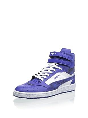 PUMA Women's Sky II HI SHMR Fashion Sneaker (Clematis Blue/White)