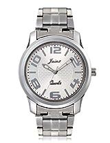Jainx BREO Analog Silver Dial Men's Watch-JM131