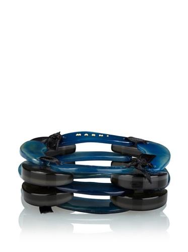MARNI Women's Triple-Layered Bracelet (Jord)