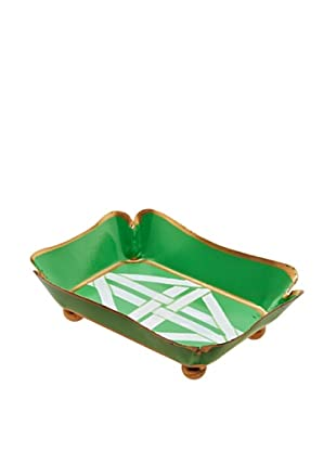 Jayes Cane Green Trinket Tray