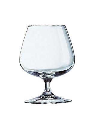Luminarc Estuche 4 Copas Cognac 41 Cl Modelo W. S. Exper