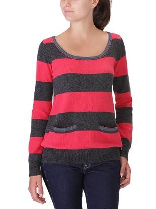Lee Jersey Stripe (Rosa / Gris)