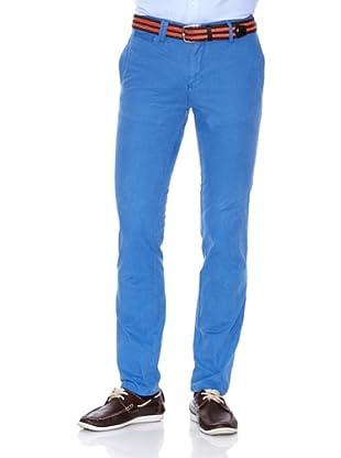 Cortefiel Pantalón China 047 Slim Ppt (Azul)