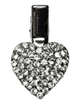 Mirage Pet Products Heart Clip for Pets, Clear
