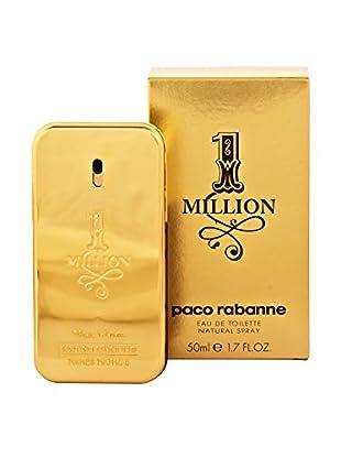 Paco Rabanne Eau de Toilette Herren One Million 50 ml, Preis/100 gr: 85.9 EUR