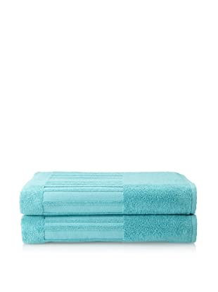 Garnier-Thiebaut Set of 2 Bath Sheets (Curaçao)