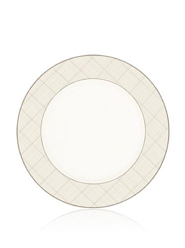 Noritake Everyday Elegance Veneto Round Platter/Charger (White/Taupe)