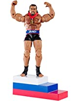 WWE Elite Collection Rusev Figure, Multi Color