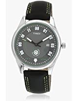 Fashion Black/Grey Analog Watch Timex
