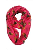 Eco Genes Women's Scarf (Pink_Free Size)