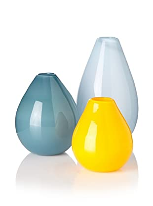 Set of 3 Teardrop II Vases