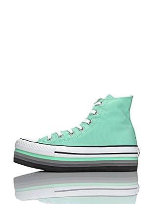 Converse Zapatillas As Hi Platform Eva (Menta)