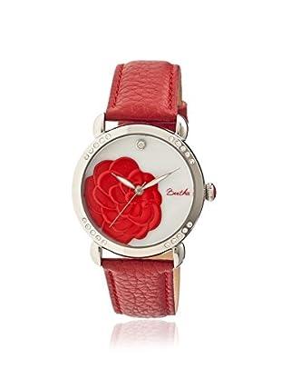 Bertha Women's BR4604 Daphne Red/White Leather Watch