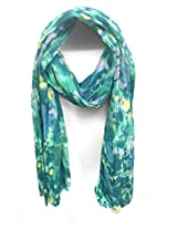 ScarfKing Marble Print Polyester Women Scarf -Mint Green