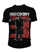 Eminem Recovery Black T shirt