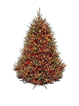 National Tree Company 7.5' Natural Fraser Medium Fir Hinged Tree