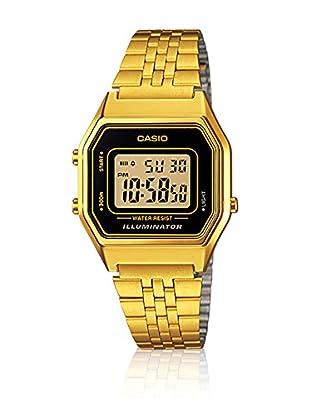 Casio Reloj con movimiento cuarzo japonés Woman LA-680WGA-1D Oro Amarillo