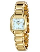 Tissot Analog Blue Dial Women's Watch - T02528582