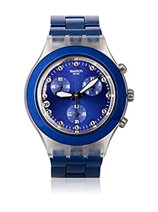 Swatch Quarzuhr Unisex Unisex FULL-BLOODED NAVY SVCK4055AG 43.0 mm