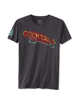 Jacks & Jokers Men's Cocktails Tee (Faded Black)