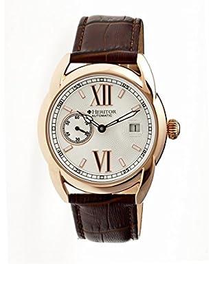 Heritor Automatic Uhr Burnell Herhr1806 braun 47  mm